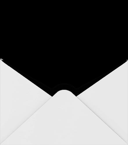 Dos de l'enveloppe de carte-cadeau