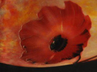 Motif floral vase Daum