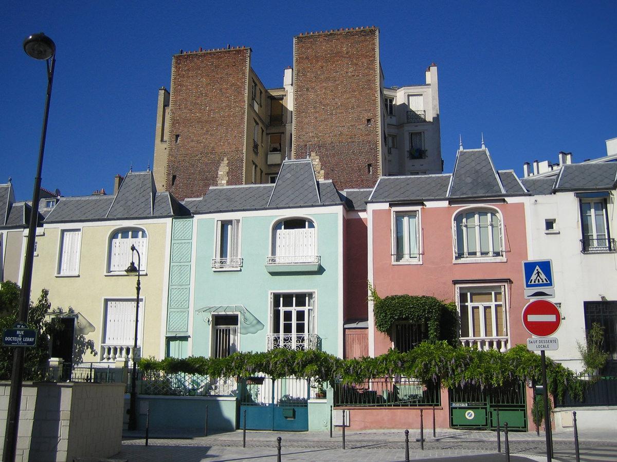 Visite guid e de la butte aux cailles - Maison de la hongrie paris ...