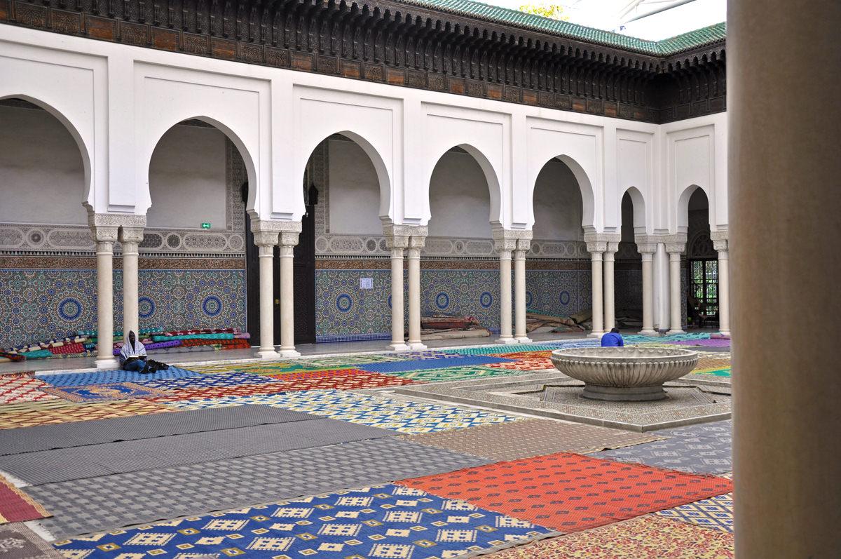 Visite de la grande mosqu e de paris culture ch rifienne - Mosquee de paris salon de the horaires ...