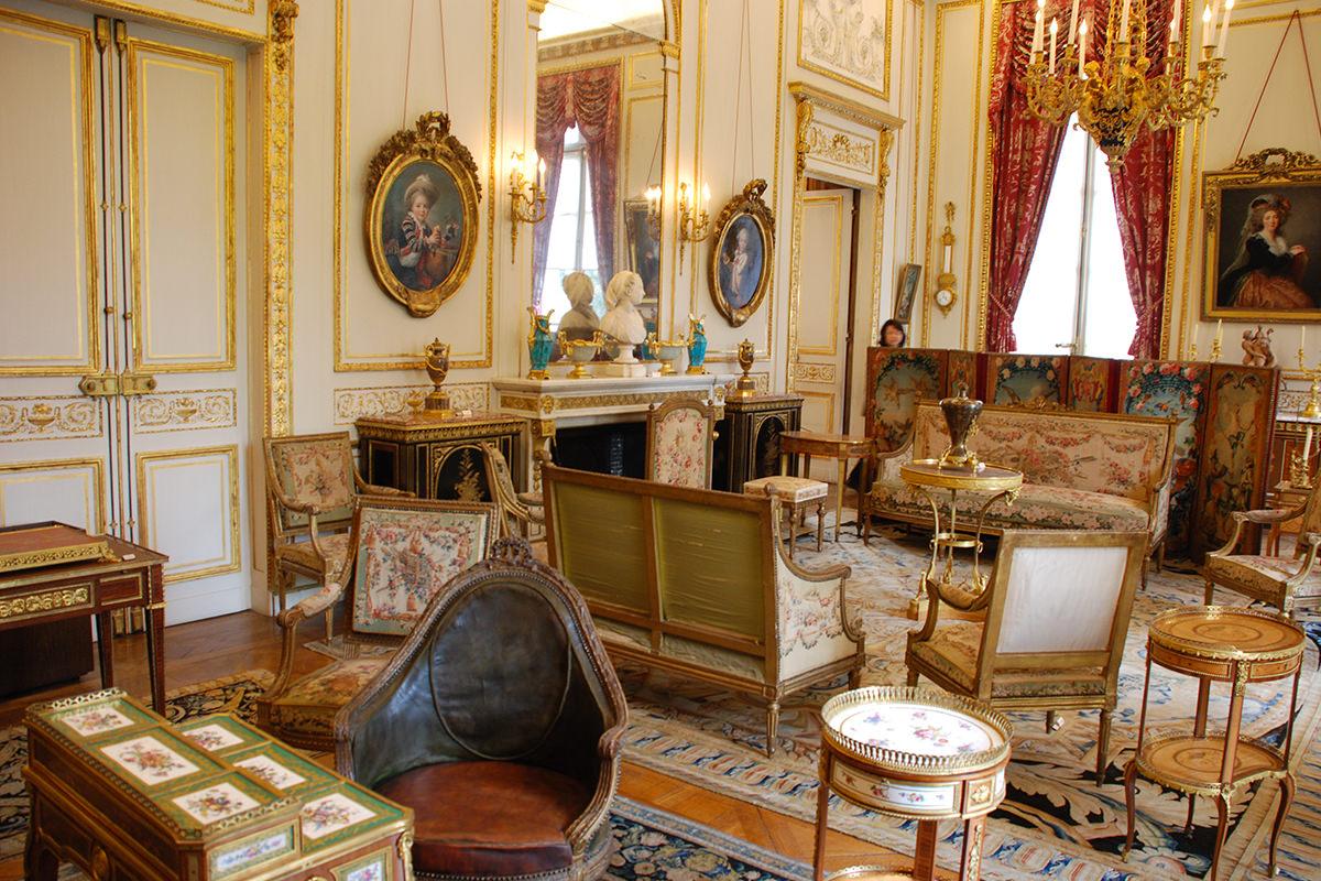 Visite guid e de l 39 h tel camondo paris capitale historique for Salon style louis 16