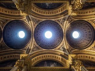 Voûte de l'église de la Madeleine